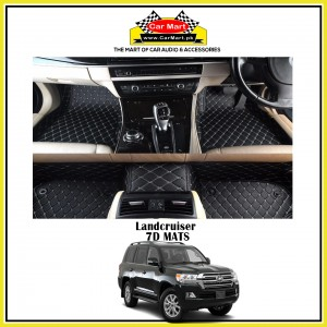 Land Cruiser 7D Floor mats - Black