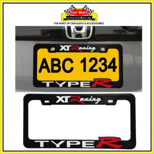 XT Racing Type R Number Plate Frame - XT Racing Type R License Plate frame