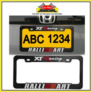 XT Racing Ralli Art Number Plate Frame - XT Racing Ralli Art License Plate frame